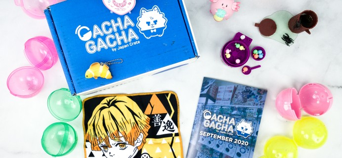 Gacha Gacha Crate September 2020 Subscription Box Review + Coupon