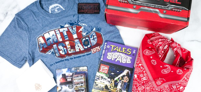 Geek Fuel July 2020 Subscription Box Review