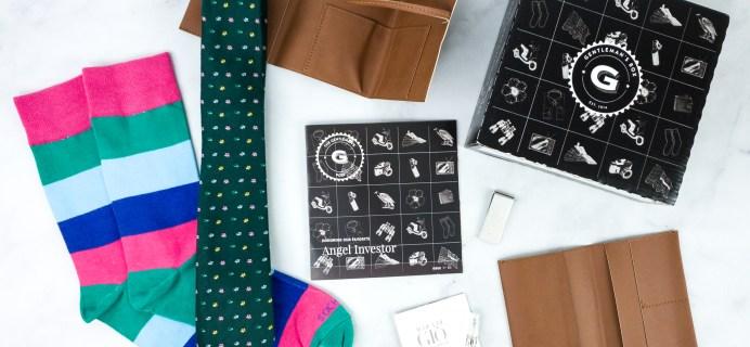 Gentleman's Box Sale: Get 40% Off First Classic Box!