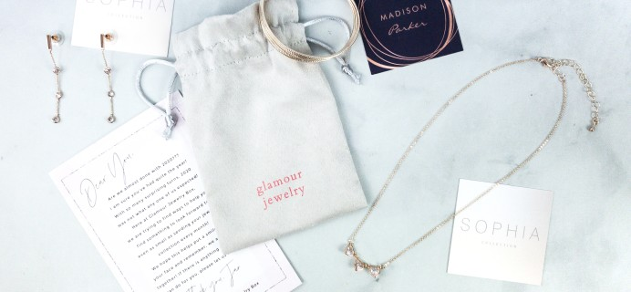 Glamour Jewelry Box July 2020 Subscription Box Review + Coupon