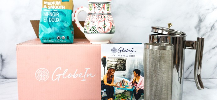 GlobeIn Artisan Box Club Review + Coupon – COLD BREW BOX