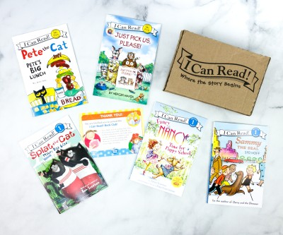 I Can Read! Book Club November 2020 Subscription Box Review + Coupon