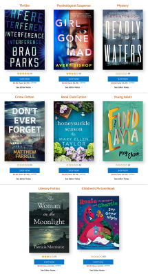 Amazon First ReadsAugust 2020 Selections: 1 Book FREE for Amazon Prime Members