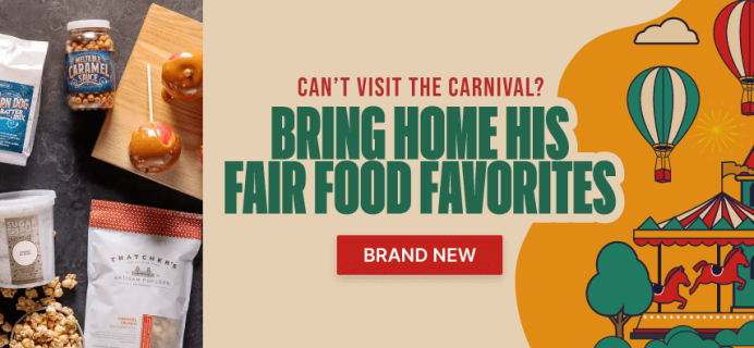 New Man Crates Carnival Faves Food Crate Available Now!