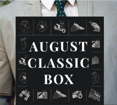 Gentleman's Box August 2020 Spoilers #1!