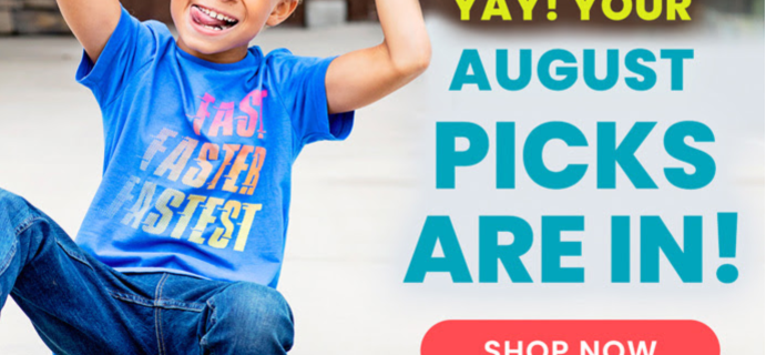 FabKids August 2020 Collection Reveal + Coupon!