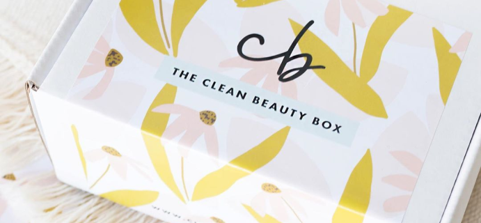 The Clean Beauty Box by Art of Organics October 2019 Full Spoilers + Coupon!