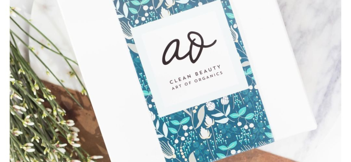 The Clean Beauty Box by Art of Organics December 2018 Full Spoilers + Coupon!