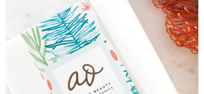 The Clean Beauty Box by Art of Organics July 2018 Full Spoilers + Coupon!
