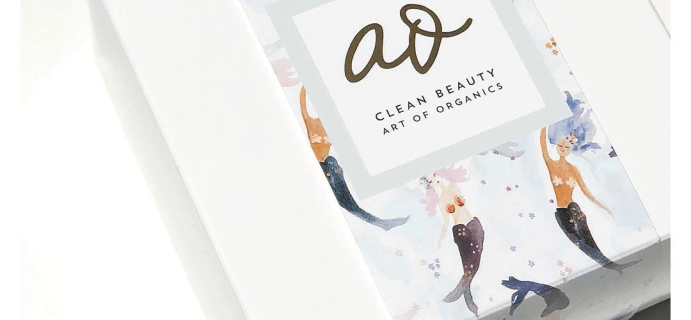 The Clean Beauty Box by Art of Organics June 2018 Full Spoilers + Coupon!