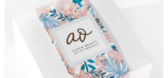 The Clean Beauty Box by Art of Organics April 2018 Full Spoilers + Coupon!