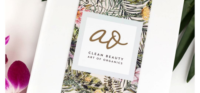 The Clean Beauty Box by Art of Organics February 2018 Full Spoilers + Coupon!