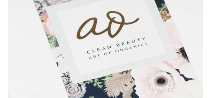 The Clean Beauty Box by Art of Organics December 2017 Full Spoilers + Coupon!