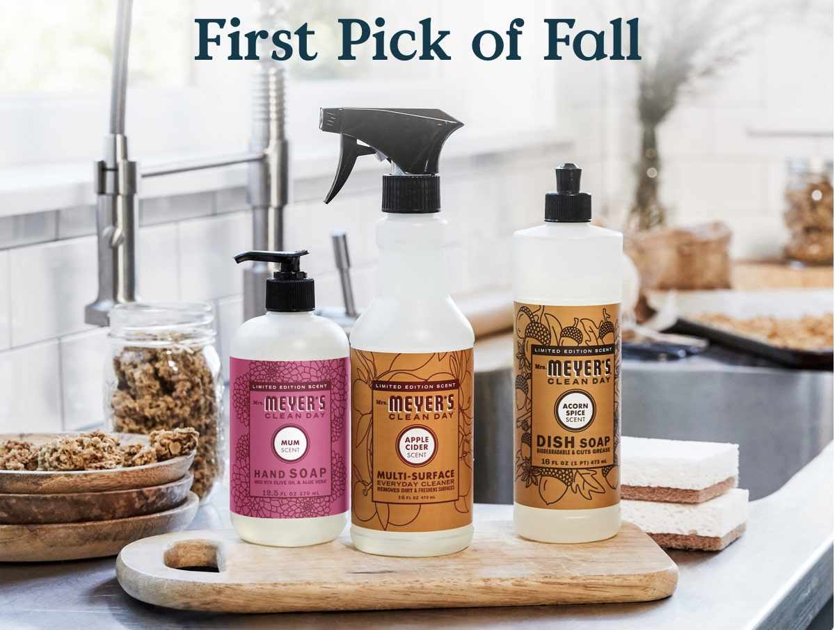Free Mrs Meyer S Fall Bundle With Grove Collaborative 20 Purchase Hello Subscription