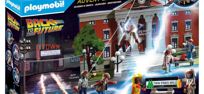 Playmobil 2020 Back To The Future Advent Calendar Pre-Orders Open Now!