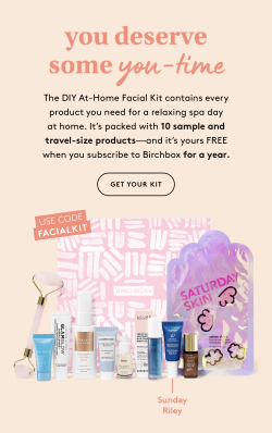 Birchbox Deal: FREE DIY At-Home Facial Kit with Annual Subscription!