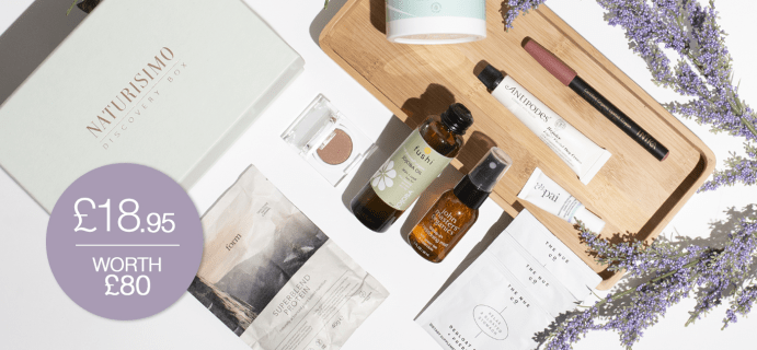 Naturisimo Vegan LifeDiscovery Box Available Now + Full Spoilers!
