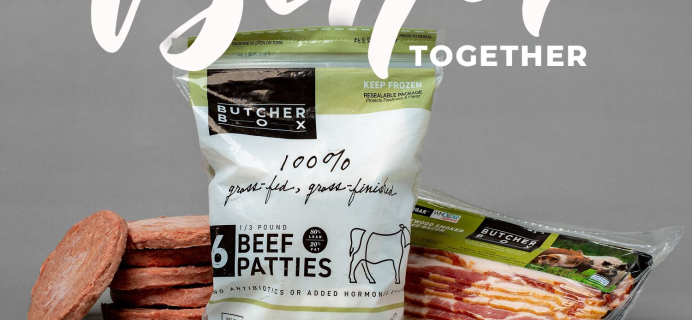 ButcherBox Coupon: FREE Burgers and Bacon with Subscription!