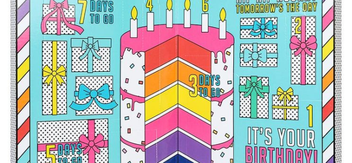 2020 Paperchase Birthday Advent Calendar Available! {UK}