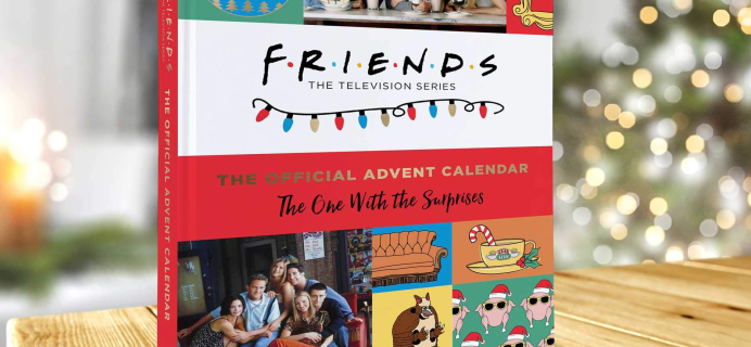 FRIENDS Advent Calendar Available to Preorder Now!
