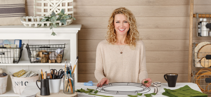 Annie's Farmhouse Style Kit-of-the-Month Club Coupon: Get 50% Off!