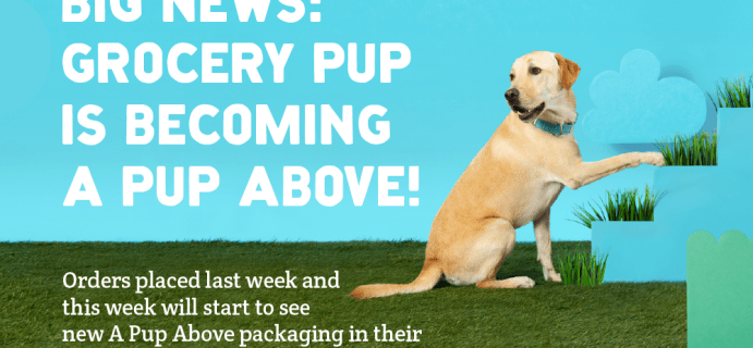 Grocery Pup Is Now A Pup Above + Coupons!