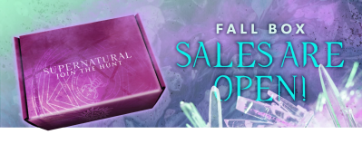 Supernatural Box Fall 2020 Sales Open Now!