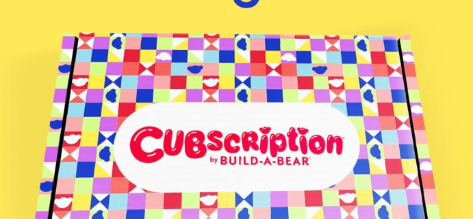 Cubscription by Build-A-Bear Subscription & Shipping Update!