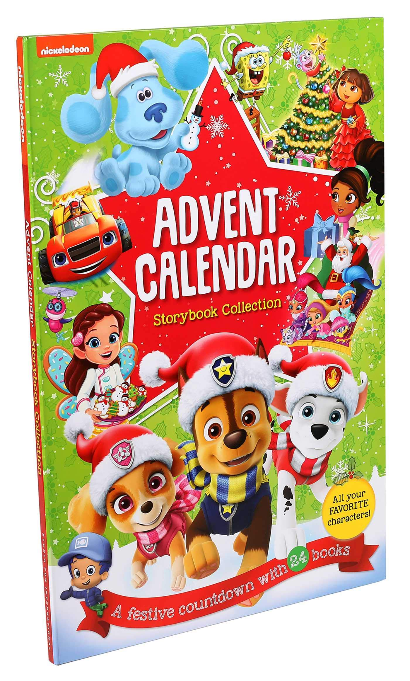 Nickelodeon Christmas Cartoon Countdown 2020 2020 Nickelodeon Storybook Advent Calendar Available Now + Full