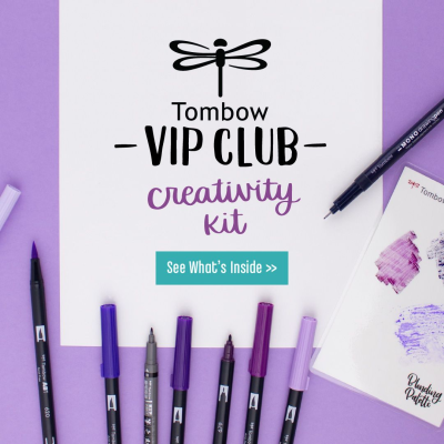 Tombow VIP Club Creativity Kit Available Now + August 2020 Full Spoilers!