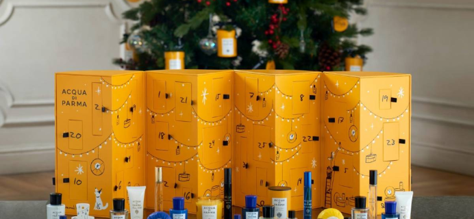 2020 Acqua di Parma Beauty Advent Calendar Available Now + Full Spoilers!