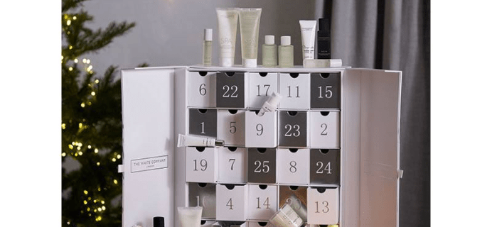 The White Company Advent Calendar 2020 Coming Soon! {UK}