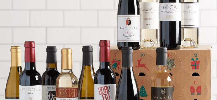 2020 Vintage Wine Estates Advent Calendar Black Friday Deal: Save $9!