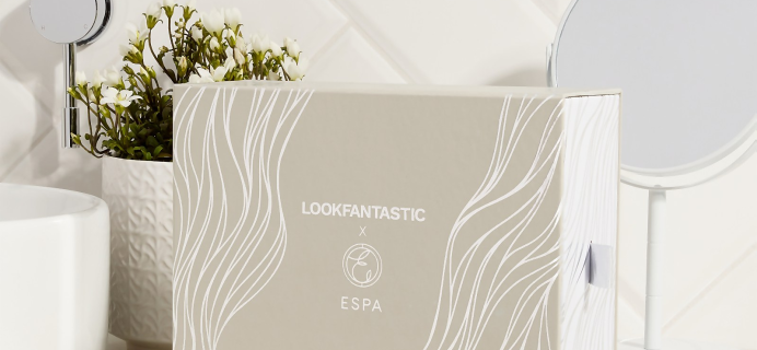 Lookfantastic x  ESPA Limited Edition Beauty Box Available Now + Full Spoilers!