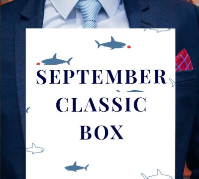 Gentleman's Box September 2020 Spoilers #1!