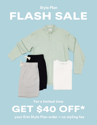 Frank And Oak Flash Sale: Get FREE Styling Fee – $40 Off First Box!