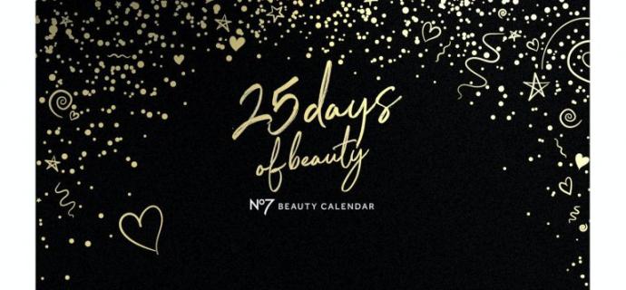 Boots No7 Advent Calendar 2020 Full Spoilers!