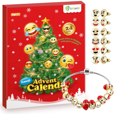 2020 D-FantiX Emoji Jewelry Advent Calendar Available Now!