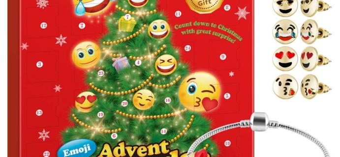 2020 D-FantiX Emoji Jewelry Advent Calendar Available Now!