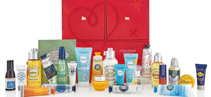 L'Occitane 2020 Premium Beauty Advent Calendar Available Now + Spoilers!