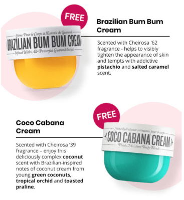 BOXYCHARM Coupon: FREE Sol de Janeiro Brazilian Bum Bum + Coco Cabana Cream with August 2020 Box!