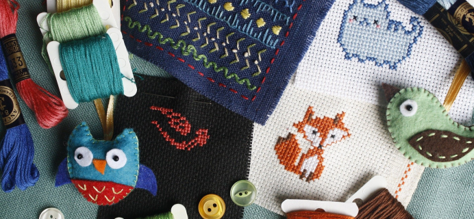 Creative Pampering Box – Review? Cross Stitch Subscription!