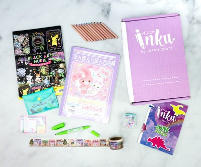 Inku Crate by Japan Crate June 2020 Subscription Box Review + Coupon!