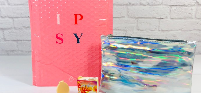 Ipsy Glam Bag August 2020 Review