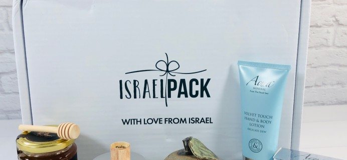 Israel Pack July 2020 Subscription Box Review + Coupon!