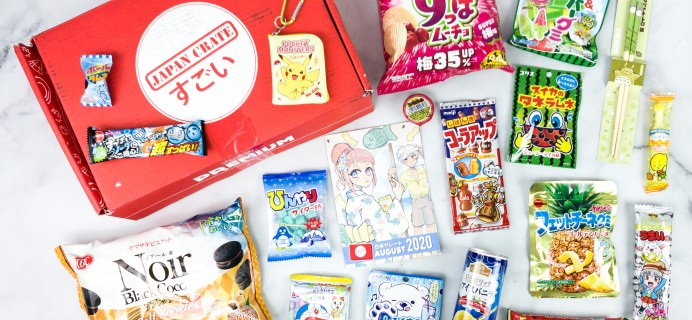 Japan Crate August 2020 Subscription Box Review + Coupon