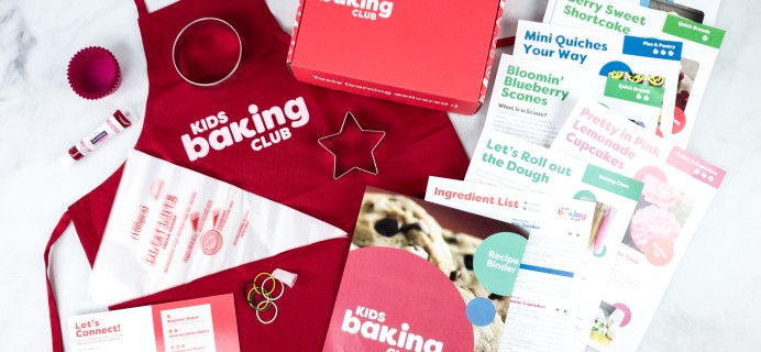 Kids Baking Club July 2020 Subscription Box Review + Coupon!