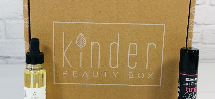 Kinder Beauty Box August 2020 Review + Coupon – TULIP