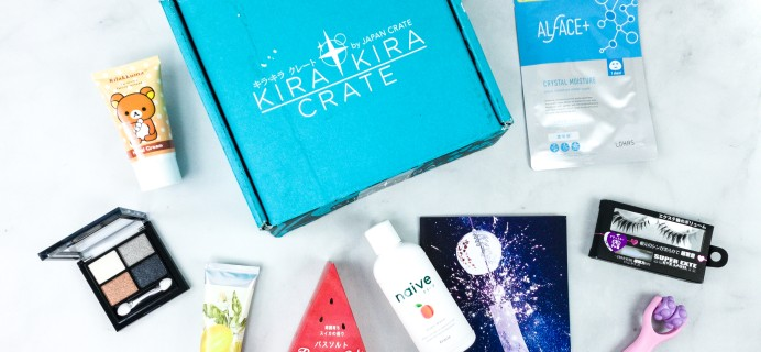 Kira Kira Crate August 2020 Subscription Box Review + Coupon