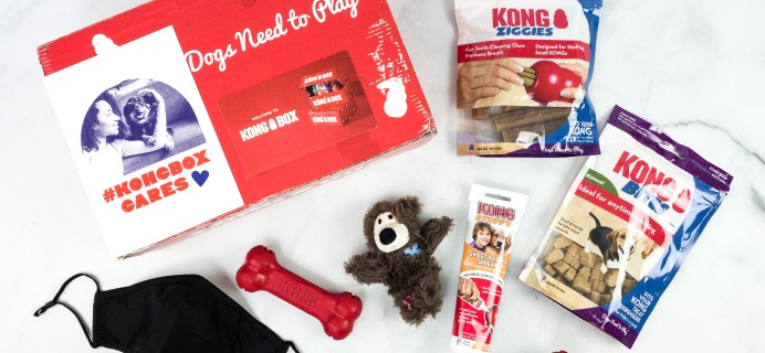 Kong Box August 2020 Subscription Box Review + Coupon!